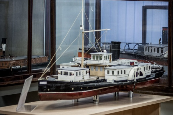 Постоянная выставка в Музее морского флота