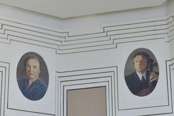 Галерея портретов музыкантов в Центральной Музыкальной Школе