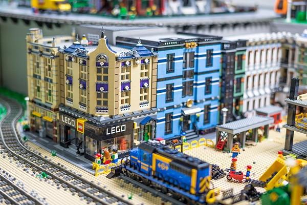 Музей Лего Megabricks