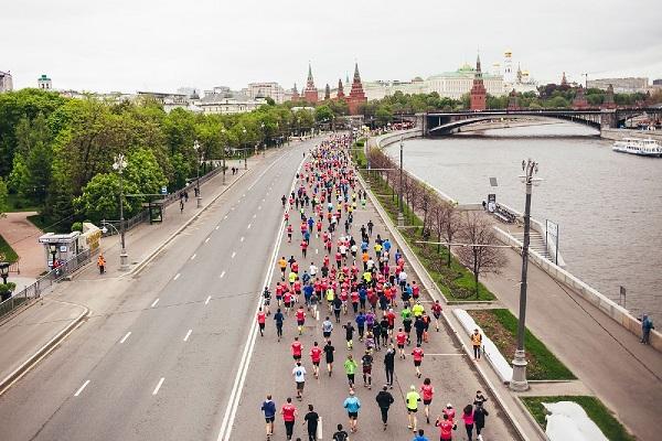 Забег «Московский полумарафон – 2018»