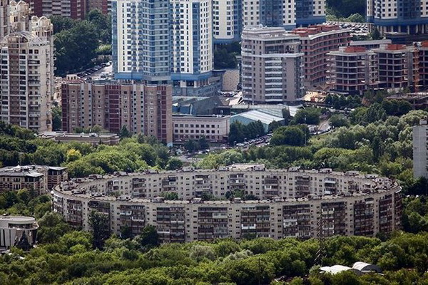 Знаменитые и известные исторические здания и дома Москвы.