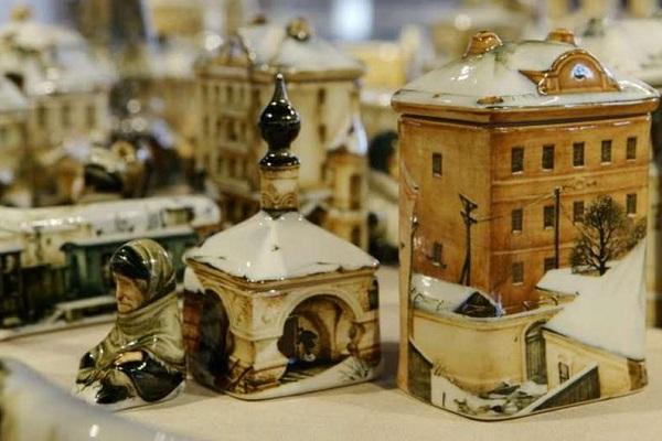 Выставка расписной керамики «Фарфороград»