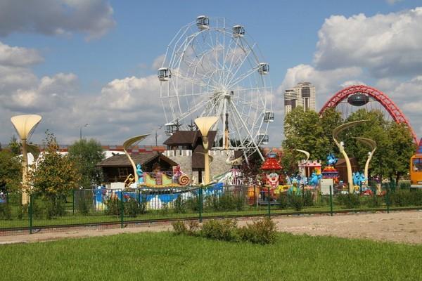 Парк Сказка в Крылатском. Аттракционы и развлечения