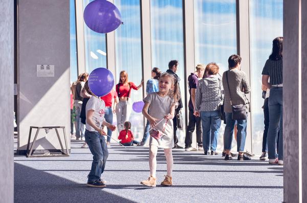 Дети смогут бесплатно посетить самую высокую Смотровую площадку Европы Panorama 360