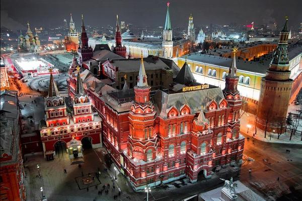 Бесплатная пешеходная экскурсия «Вдоль древних стен Кремля» от компании «Азбука Москвы»