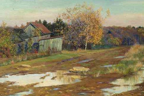 Выставка картин А. Шилова из собраний других музеев и частных коллекций в Галерее А. Шилова