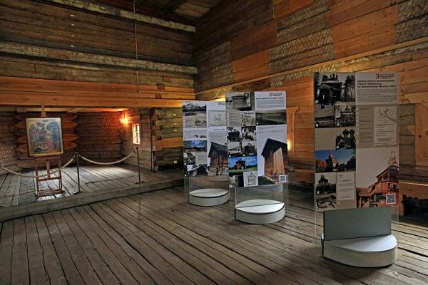 Выставка «Первый в России музей деревянного зодчества в Коломенском»