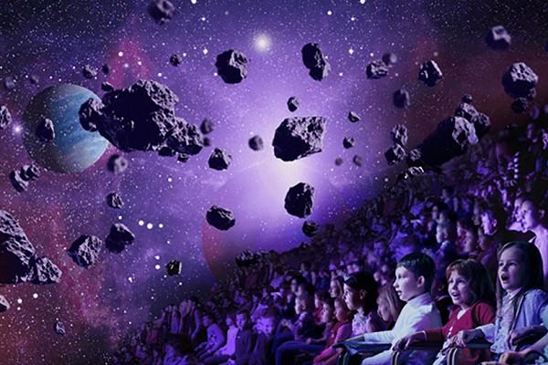 Иллюзионное шоу «Тайна трех планет»