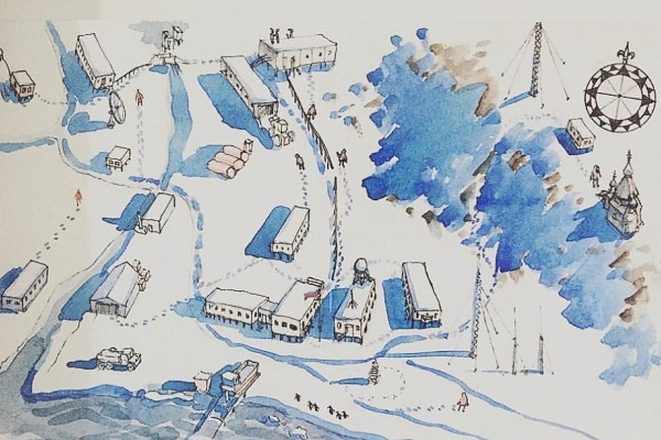 Выставка «Found in Antarctica»