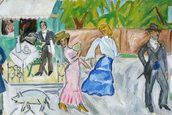 Выставка «Михаил Ларионов» в Третьяковской галерее