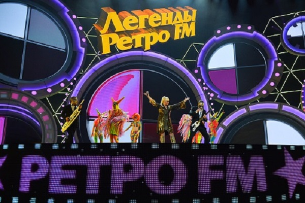 Фестиваль «Легенды Ретро FM»