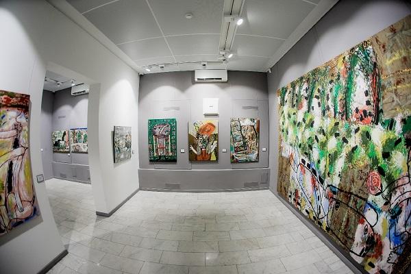 Выставка «Олег Ланг. В парке Чаир»