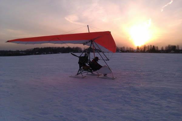 Экскурсия по Подмосковью с борта дельталёта