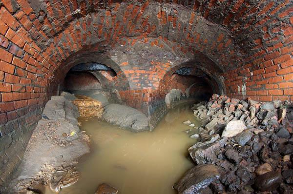 Экскурсия с диггером по подземной реке Неглинке