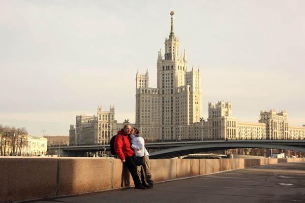 Обзорная поездка по центру Москвы с фотосессией