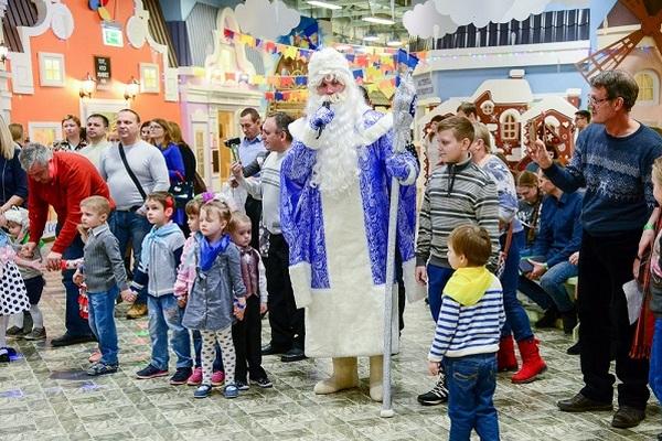 Незабываемые новогодние праздники в «КидБурге» для детей любого возраста!