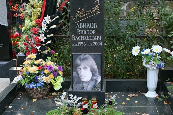 Могила В.В. Авилова