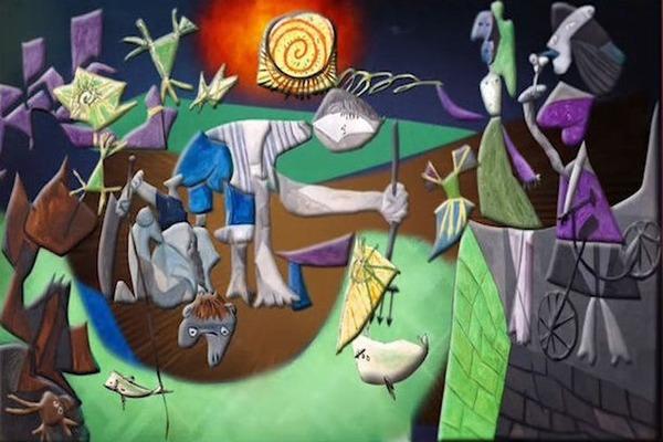 Мультимедийная выставка «Пабло Пикассо. Желание, пойманное за хвост»