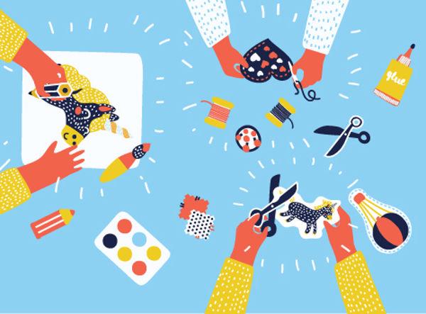 Мастер-классы для детей «Пикассо, Бэйби! крафтовые мастерские» (5-8 лет)