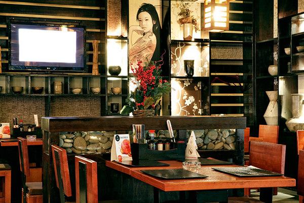 Ресторан суши «Гин-но Таки» в Москве