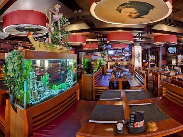 Ресторан суши «Якитория» в Москве