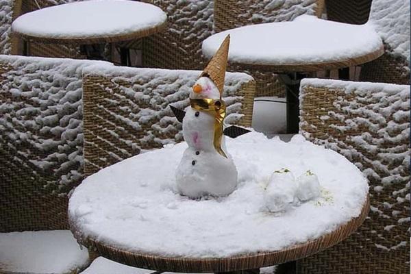 Выставка фотографий «Снег. Nix. Snow»