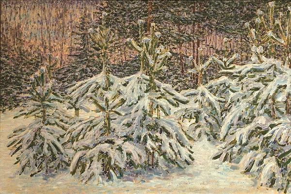 Выставка картин «Николай Мещерин. Выход из суеты»