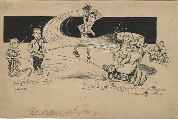 Выставка «Литературные войны 1920-1930-х годов: РАПП и попутчики»