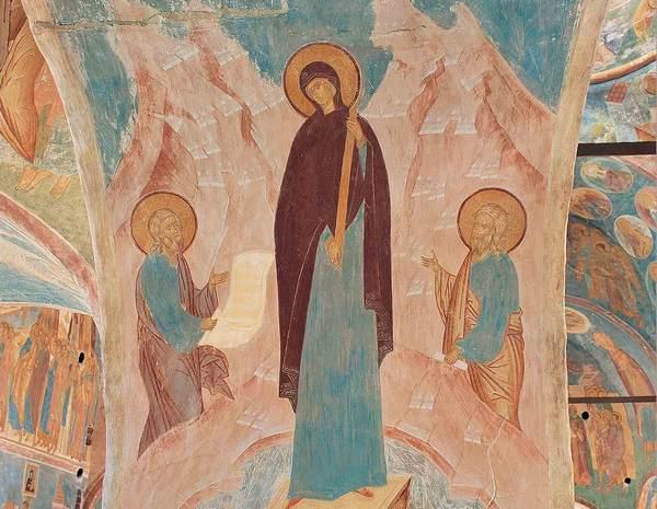 Ферапонтово. Другое небо. Проект «Свет фресок Дионисия – миру». Выставка Юрия Холдина.