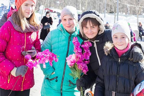 Международный женский день в Лианозовском парке