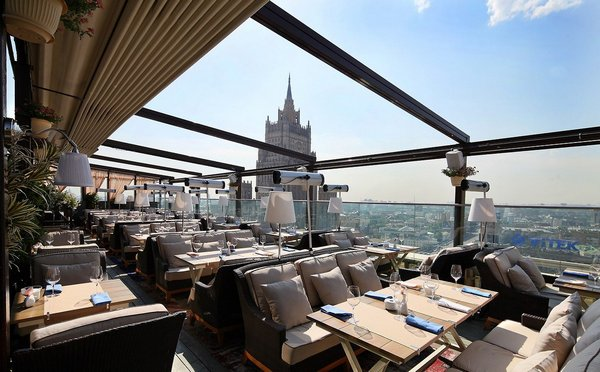 Панорамные рестораны в Москве