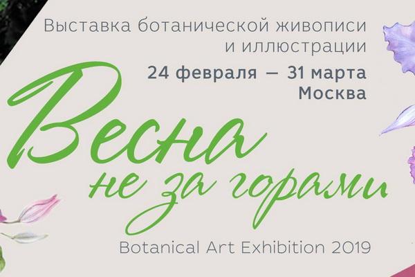 В «Аптекарском огороде» открылась выставка ботанической живописи и иллюстрации «Весна не за горами»
