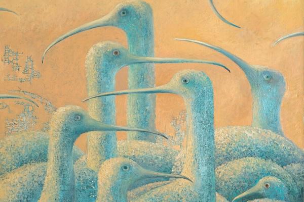 Выставка картин Виктора Никоненко «История о Найджеле и…»