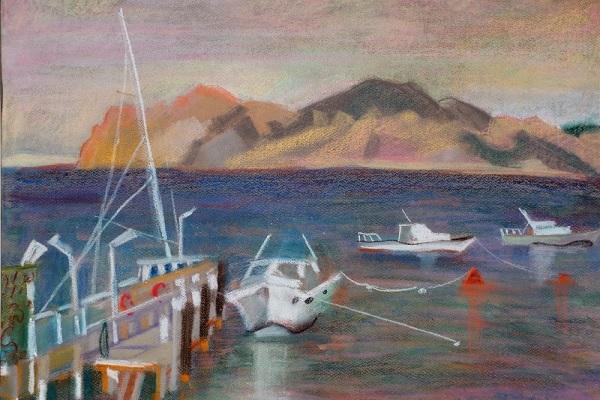 Выставка работ Инны Энтиной «Странствия художника»