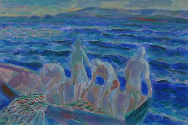 Выставка картин Бориса Карафелова «Свет Средиземноморья»