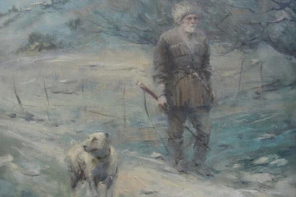 Выставка произведений Алана Калманова, Заурбека Дзанагова и Мадины Калмановой