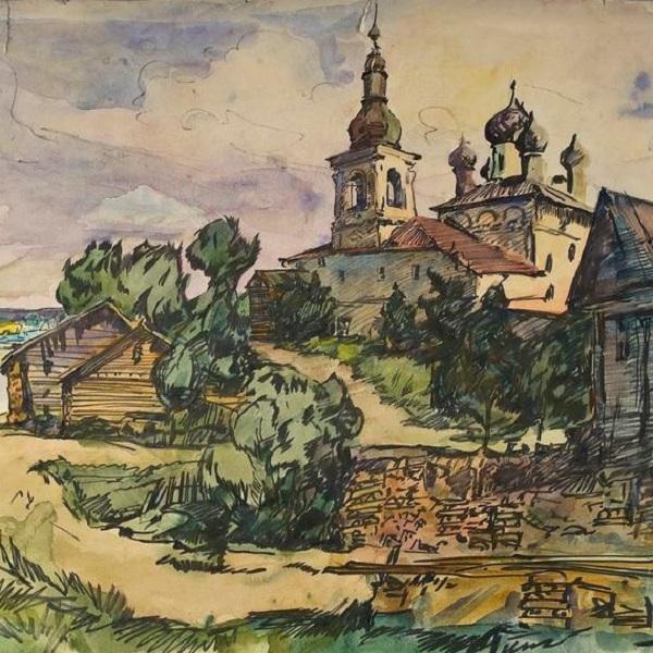 Выставка картин «Нестор Хломов. Ветер странствий»