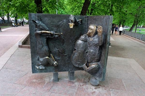 Выставка картин «Баснописец Иван Крылов и его герои»