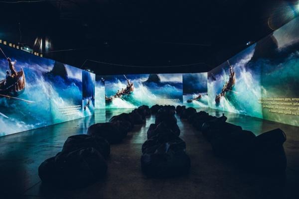 Мультимедийные выставки: «Айвазовский. Ожившие полотна» и «Рерих. Ожившие полотна»