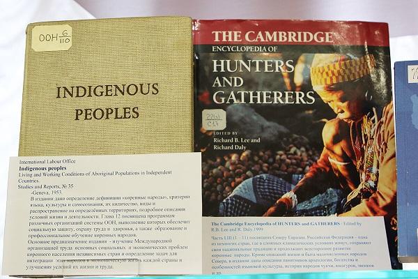 Выставка «Уникальный лингвистический фонд коренных народов Севера»
