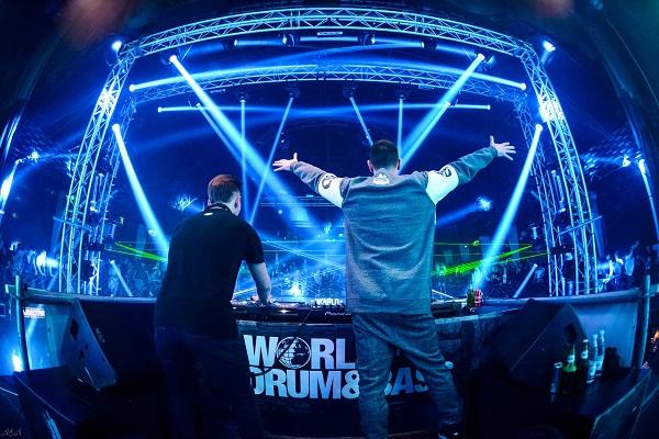 Фестиваль электронной музыки World Of Drum&Bass в клубе Adrenaline Stadium