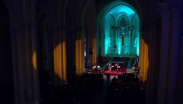 Концерт «Зеркало в зеркале» в Римско-католическом кафедральном соборе на Малой Грузинской