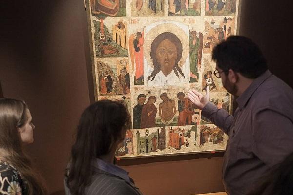 Выставка «Сказание о Нерукотворном образе. Икона XVI века из собрания К.В. Воронина»