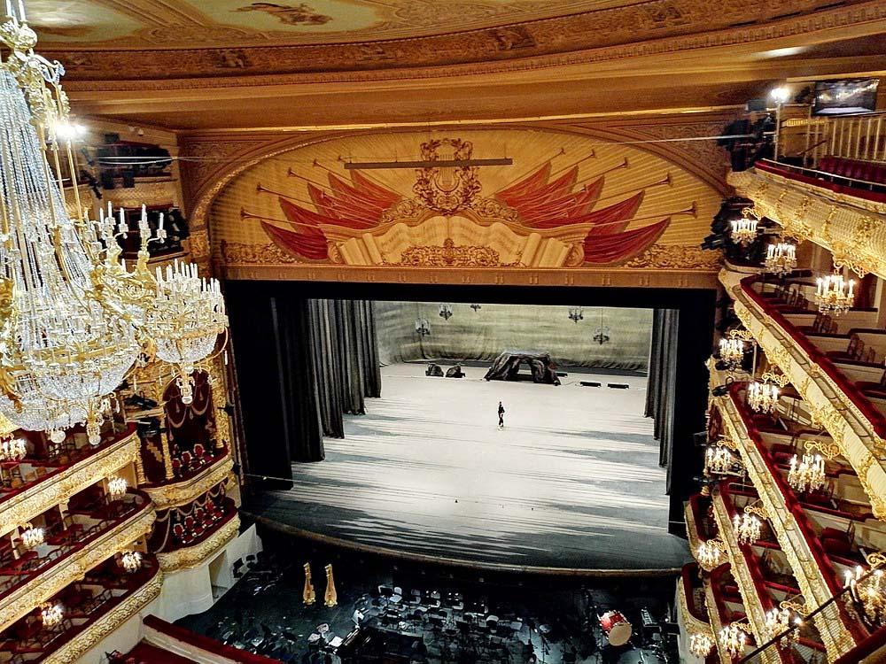 Экскурсия в Большой театр от компании «Твоя Москва»