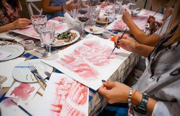 Художественный мастер-класс в формате веселой вечеринки с вином! Опыта рисования не нужно!