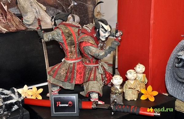 Выставка «Япония. Куклы, сказки и легенды» в КРК «Кремль в Измайлово»