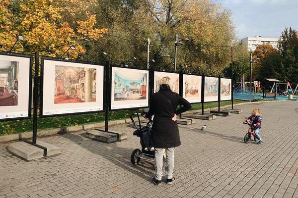 Лианозовский парк и Государственный  исторический музей представляют фотовыставку «Мир старинного интерьера»