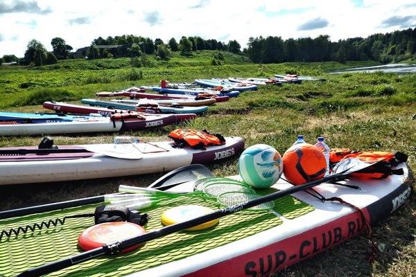 SUP серфинг и прогулки по воде в Москве и Подмосковье