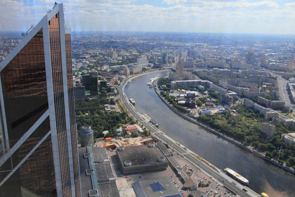 Смотровые площадки Москва-Сити - Москва