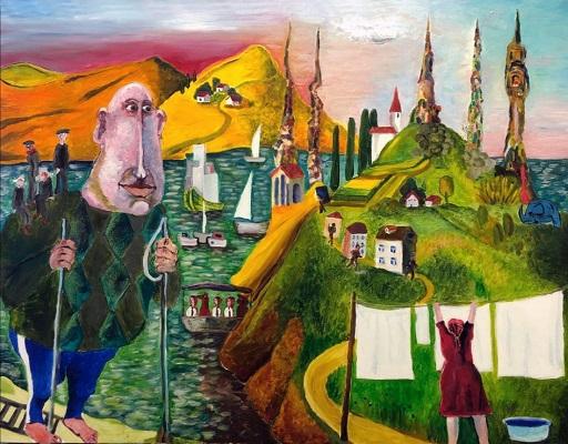 Выставка картин-историй Дмитрия Казнина «Большое и маленькое»